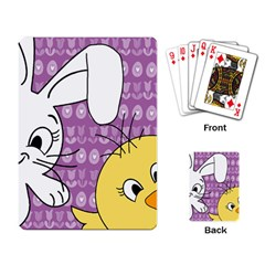 Easter Playing Card
