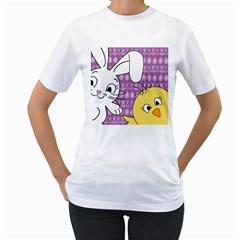 Easter Women s T-Shirt (White)