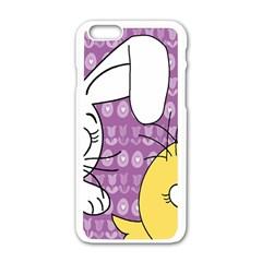 Easter Apple iPhone 6/6S White Enamel Case