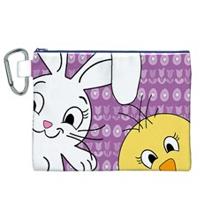Easter Canvas Cosmetic Bag (XL)