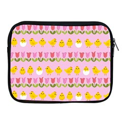 Easter - chick and tulips Apple iPad 2/3/4 Zipper Cases