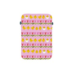 Easter - chick and tulips Apple iPad Mini Protective Soft Cases