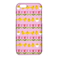 Easter - chick and tulips iPhone 6/6S TPU Case