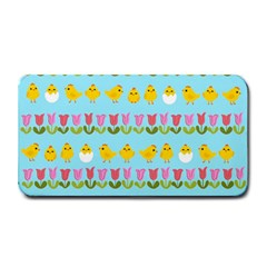 Easter - chick and tulips Medium Bar Mats