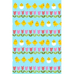 Easter - chick and tulips 5.5  x 8.5  Notebooks
