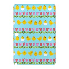 Easter - chick and tulips Samsung Galaxy Tab Pro 12.2 Hardshell Case