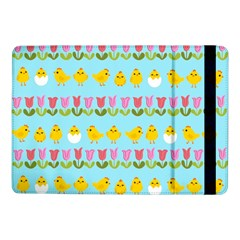 Easter - chick and tulips Samsung Galaxy Tab Pro 10.1  Flip Case
