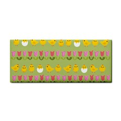 Easter - chick and tulips Cosmetic Storage Cases