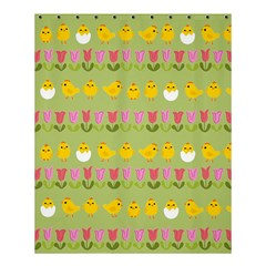 Easter - chick and tulips Shower Curtain 60  x 72  (Medium)