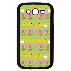 Easter - chick and tulips Samsung Galaxy Grand DUOS I9082 Case (Black)