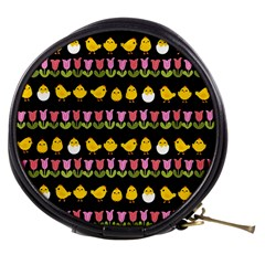 Easter - chick and tulips Mini Makeup Bags