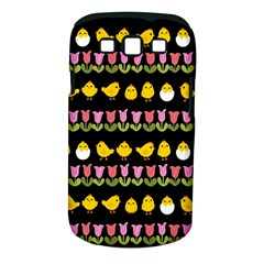 Easter - chick and tulips Samsung Galaxy S III Classic Hardshell Case (PC+Silicone)
