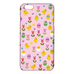 Easter - chick and tulips iPhone 6 Plus/6S Plus TPU Case