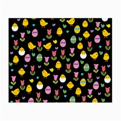 Easter - chick and tulips Small Glasses Cloth