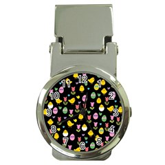 Easter - chick and tulips Money Clip Watches