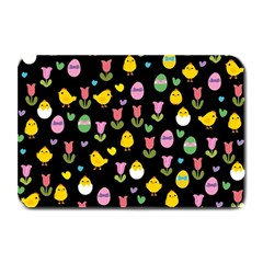 Easter - chick and tulips Plate Mats