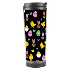 Easter - chick and tulips Travel Tumbler