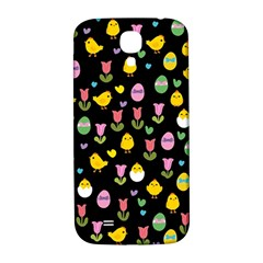 Easter - chick and tulips Samsung Galaxy S4 I9500/I9505  Hardshell Back Case