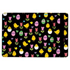 Easter - chick and tulips iPad Air Flip