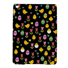 Easter - chick and tulips iPad Air 2 Hardshell Cases