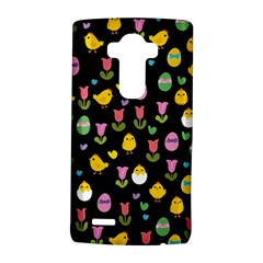 Easter - chick and tulips LG G4 Hardshell Case