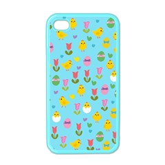 Easter - chick and tulips Apple iPhone 4 Case (Color)