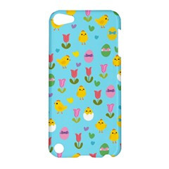 Easter - chick and tulips Apple iPod Touch 5 Hardshell Case