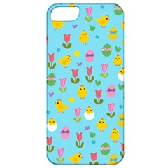 Easter - chick and tulips Apple iPhone 5 Classic Hardshell Case