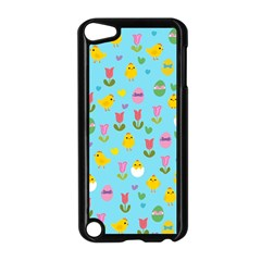 Easter - chick and tulips Apple iPod Touch 5 Case (Black)