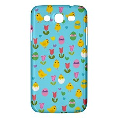 Easter - chick and tulips Samsung Galaxy Mega 5.8 I9152 Hardshell Case