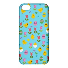Easter - chick and tulips Apple iPhone 5C Hardshell Case