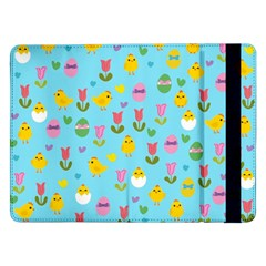 Easter - chick and tulips Samsung Galaxy Tab Pro 12.2  Flip Case