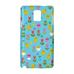 Easter - chick and tulips Samsung Galaxy Note 4 Hardshell Case