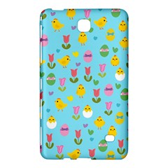 Easter - chick and tulips Samsung Galaxy Tab 4 (8 ) Hardshell Case
