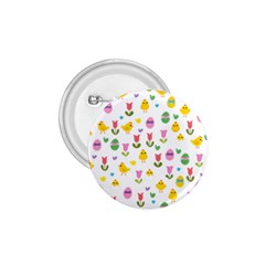 Easter - chick and tulips 1.75  Buttons