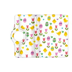 Easter - chick and tulips Kindle Fire HD (2013) Flip 360 Case