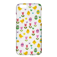 Easter - chick and tulips Apple iPhone 6 Plus/6S Plus Hardshell Case