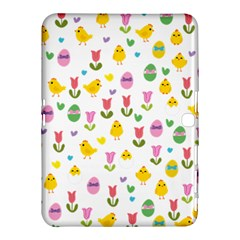Easter - chick and tulips Samsung Galaxy Tab 4 (10.1 ) Hardshell Case