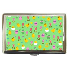 Easter - chick and tulips Cigarette Money Cases
