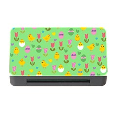 Easter - chick and tulips Memory Card Reader with CF