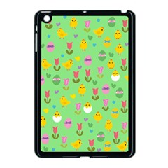 Easter - chick and tulips Apple iPad Mini Case (Black)