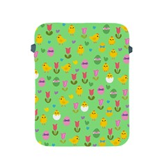 Easter - chick and tulips Apple iPad 2/3/4 Protective Soft Cases