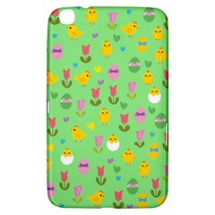 Easter - chick and tulips Samsung Galaxy Tab 3 (8 ) T3100 Hardshell Case