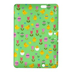 Easter - chick and tulips Kindle Fire HDX 8.9  Hardshell Case