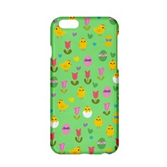 Easter - chick and tulips Apple iPhone 6/6S Hardshell Case