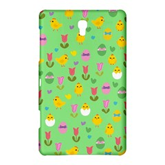 Easter - chick and tulips Samsung Galaxy Tab S (8.4 ) Hardshell Case