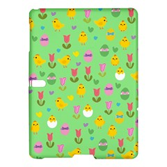 Easter - chick and tulips Samsung Galaxy Tab S (10.5 ) Hardshell Case
