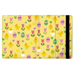 Easter - chick and tulips Apple iPad 3/4 Flip Case