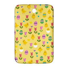 Easter - chick and tulips Samsung Galaxy Note 8.0 N5100 Hardshell Case