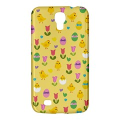 Easter - chick and tulips Samsung Galaxy Mega 6.3  I9200 Hardshell Case